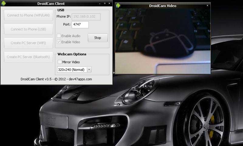 DroidCam Wireless Webcam 2
